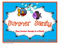 Summer Sanity / by Buysellteach