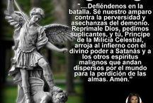 Arcángeles, angeles y oraciones / by Xiomara Rivera