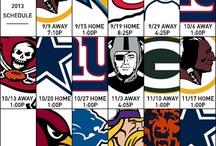 2013 #Eagles Schedule / In photos: #Eagles 2013 regular season schedule.  / by Philadelphia Eagles