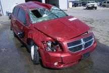 Another bites the dust!! / Wreck Dodge Caliber 2009!! / by Juan Carlos Fuentes