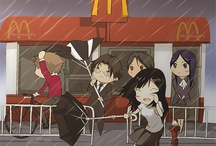 #Anime / Humble artwork by P-shinobi / by Boomslank