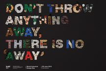 Typography Prints Posters / by Vegan Food