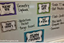 Ma+H / Math ideas and activities for the classroom. / by Conolley *Third Grade Rock Star*