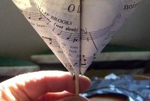 Frugal Decor from Sheet Music / by Frugal Decorating Diva