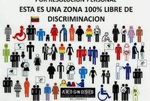 Discriminación / by Ruth Gómez