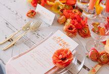 Orange Weddings / by The Pink Bride