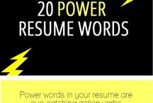 resume help / by Caitlin Deters