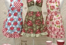 Aprons / for my infactuation of aprons / by Christine Powell