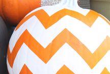 No-Carve Ideas for Halloween Pumpkin Decorating / halloween pumpkin decorating, painting pumpkin Halloween, no-carve halloween pumpkin, halloween pumpkin patterns, free halloween pumpkin patterns, halloween pumpkin carving / by AllFreeCrochet