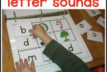 Letters and sounds / by Melissa Istre