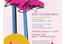 VIVA! Las Vegas / What happens in Vegas, stays in Vegas. Join us for the trip of a lifetime January 11-15 2015! / by Aloette Cosmetics