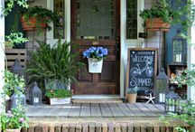 Front Porch Ideas/Decor / by Dulce Candy