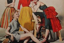 Fashion Through the Ages -- Fabulous 50's / by Jerri Gullion