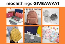MochiThings Giveaway! / Giveaway Events Information! / by MochiThings