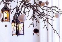Décorer:D'Hiver / Christmas and Winter Decorating Ideas / by Renae Fréson