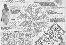 Háčkování  - vzory, popisy / by Zdenka Hepnarová