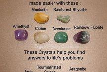 Gemstone and Crystal Healing / by Stephanie Fawcett