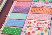 Wonderful World of Washi / I love washi tape - decorative craft tape. It is so pretty!     You can join me on my art adventures at www.facebook.com/MessingwithPickledMemories / by Debbra Friesen