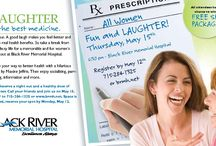 Women's Night Out / Laughter is the Best Medicine, Women's Night Out, Fun / by Black River Memorial Hospital