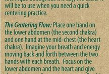 Centering and grounding / by Jackie Rothwell