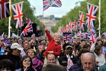 The Queen's Diamond Jubilee Year. / The Queen's special year, 2012 plus photographs of the Royal Family. / by Davena Hooson