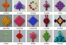 Knots and Braids / Directions and samples of Asian and European Knots and braids / by Just Cypress