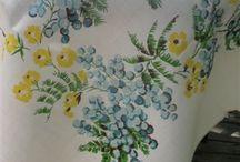 Vintage Tablecloth / by Brenda Sandrick