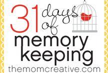 Memory Keeping / by Sara {Mom Endeavors}