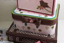 Card Boxes and Holders / by Cathy Dawe