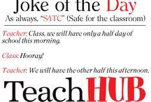 Teacher Joke of the Day / by TeachHUB.com