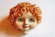 Doll Sculpting Head Tutorial DIY / by Iris
