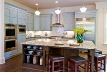 Kitchen Ideas / Kitchens for smaller homes I love  / by Hello I Live Here