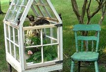 Garden -- Mini-greenhouses, cold frames, & cloches / by Graig Eldred