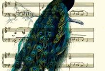 Peacock Art / by B Murphy