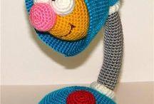 Toys hook from Elena Belova / http://stranamasterov.ru/user/7365 / by Enyua Ef