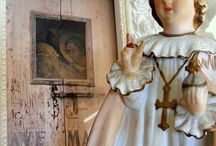 Religious Icons in Decor / by Blue  Creek Home Rhonda