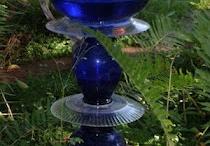 COLBALT BLUE GLASS / . / by Debbie Antrim