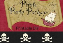 pirate birthday party / by viviana Barnwell