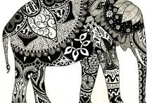 Zentangle / by Kaitlyn Rollins