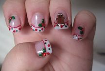 Christmas nails  / by Andie Halfacre