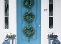 Wreaths!!! / Outdoor wreaths.  / by Corrie Geyer