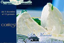 Sua maestà la MOZZARELLA DI BUFALA / In questa board saranno inserite tutte le ricette che parteciperanno al mio contest. Ulteriori informazioni  http://www.cappuccinoecornetto.com/2012/12/sua-maesta-mozzarella-bufala-contest-cappuccino-cornetto.html / by Cran Berry