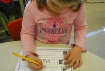 What's in a name? / Kindergarten name games/activities  / by Lindsie Kline