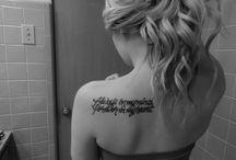 tattoos!! / by Bonnie Osterberg