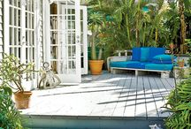decks / jardines / by Macan Rosabal