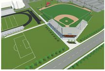Kerry Wood's Cubs Field / New artificial turf baseball field at Clark Park is in construction! The new field will support Chicago Park District and City of Chicago high school athletic programs.  / by Chicago Park District