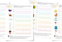Printable Worksheets - Spelling / by Lee Hansen, Designer