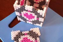 Hama/perler beads / by Cathie Thon