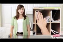 Videos - How to Get Organized / Helpful videos that give practical advise on how to get your home organized so you have more time for the things that matter. / by Rubbermaid