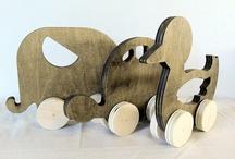 hout / by Janie de Villiers